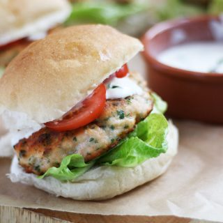 Easy Fresh Salmon Burgers with Norwegian Salmon