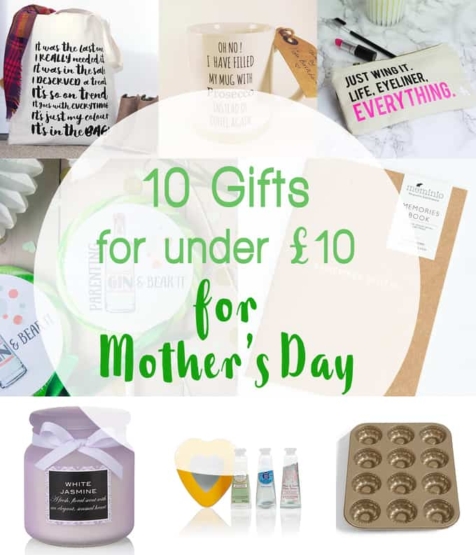 Give as you Live this Mother's Day.. 10 Gifts under £10 with a free charity donation.