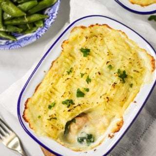 Easy Fish Pie with Cheesy Mash