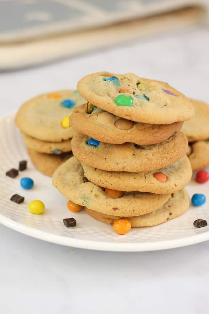 Loaded Cookie Recipe - Easy peasy cookies to make with kids, stuffed with candy and sweeties for a special treat.