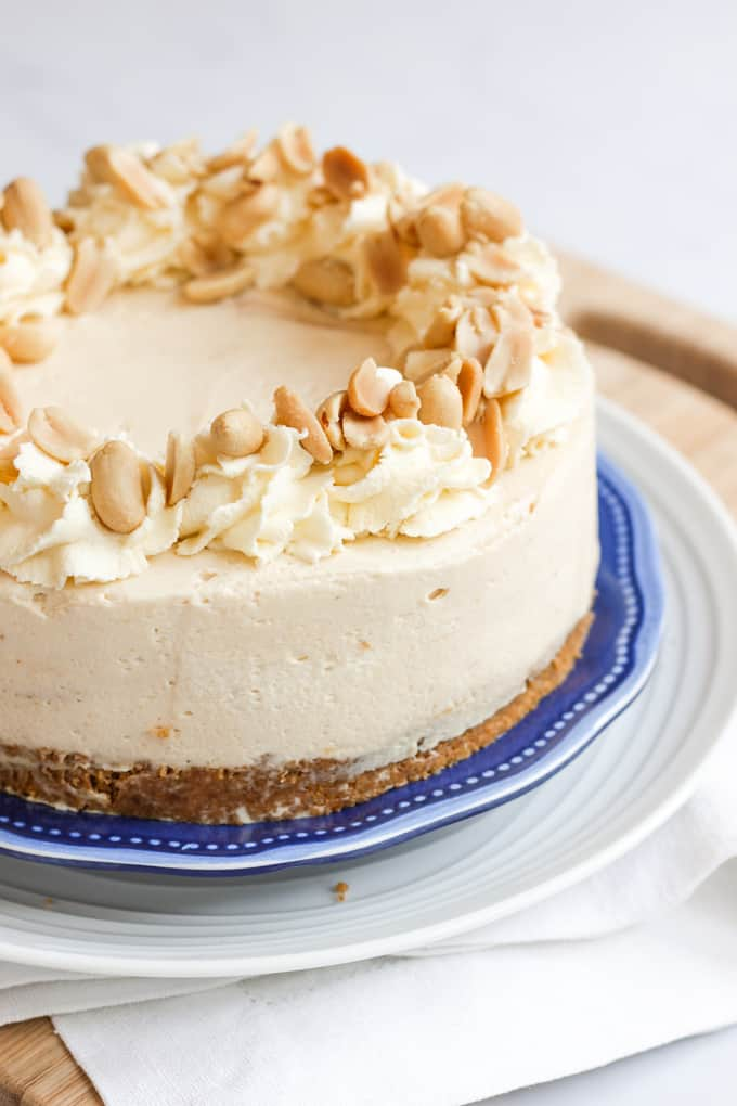 Frozen Peanut Butter Cheese Cake Recipe