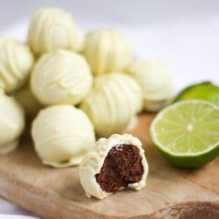 Gin and Tonic Truffles Recipe with White Chocolate
