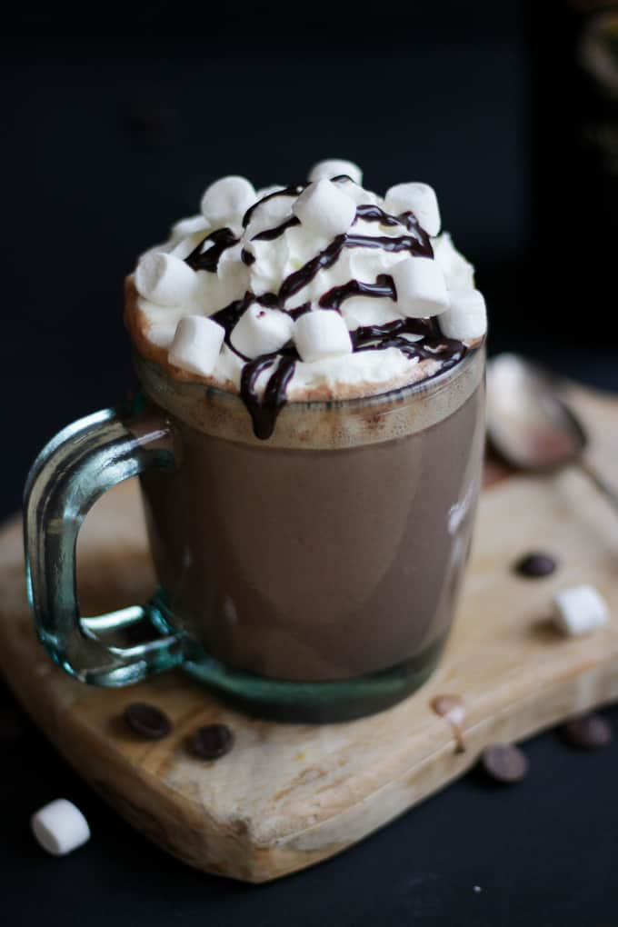 Baileys Slow Cooker Hot Chocolate - Taming Twins