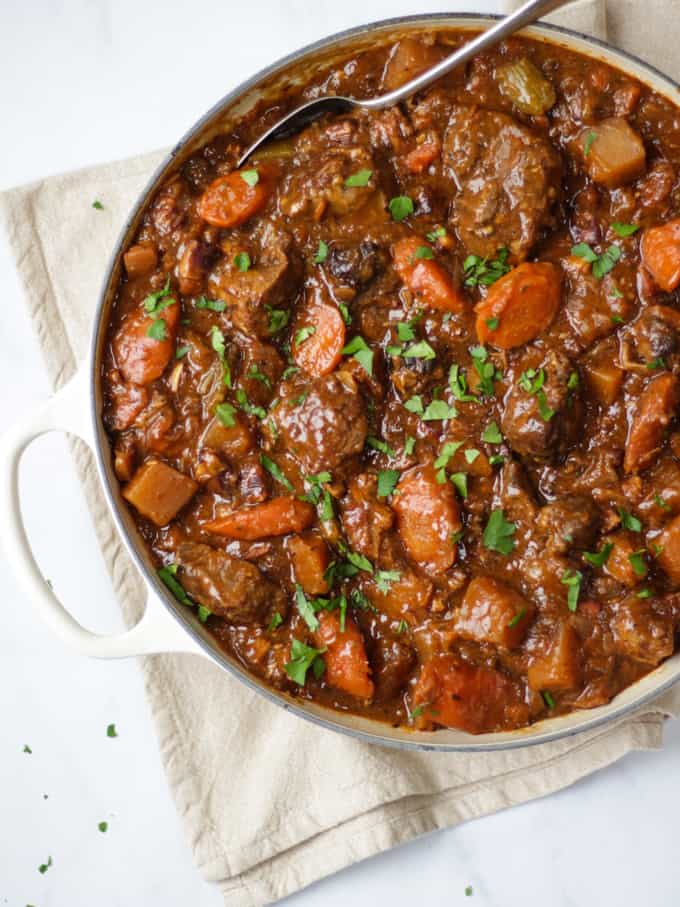 Beef Guinness Stew Recipe The Best Irish Ale Casserole