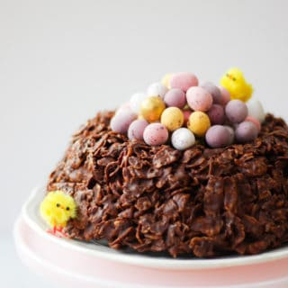 Chocolate Easter Nest Cornflake Cake Recipe