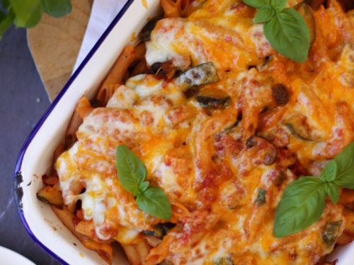 Easy Pasta Bake With Chicken And Bacon