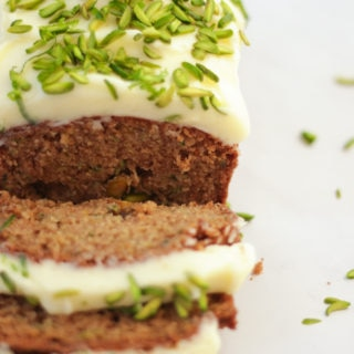 Courgette Cake Recipe with Lime & Cream Cheese Icing