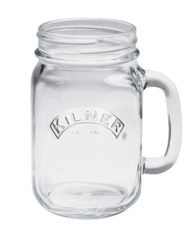 Glass mason jar from Amazon