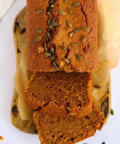 Pumpkin cake recipe the perfect autumn loaf - better than Starbucks!