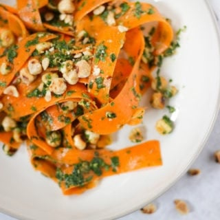 Carrot Salad with Herb dressing