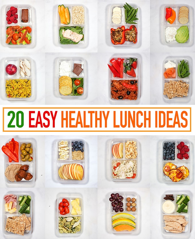 20 Healthy Packed Lunch Ideas Recipes For Quick Lunches To Go