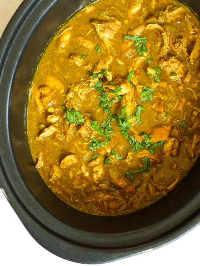Slow Cooker Chicken Curry The Easiest Ever Recipe