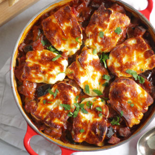 Grilled Halloumi Cheese Bake Recipe