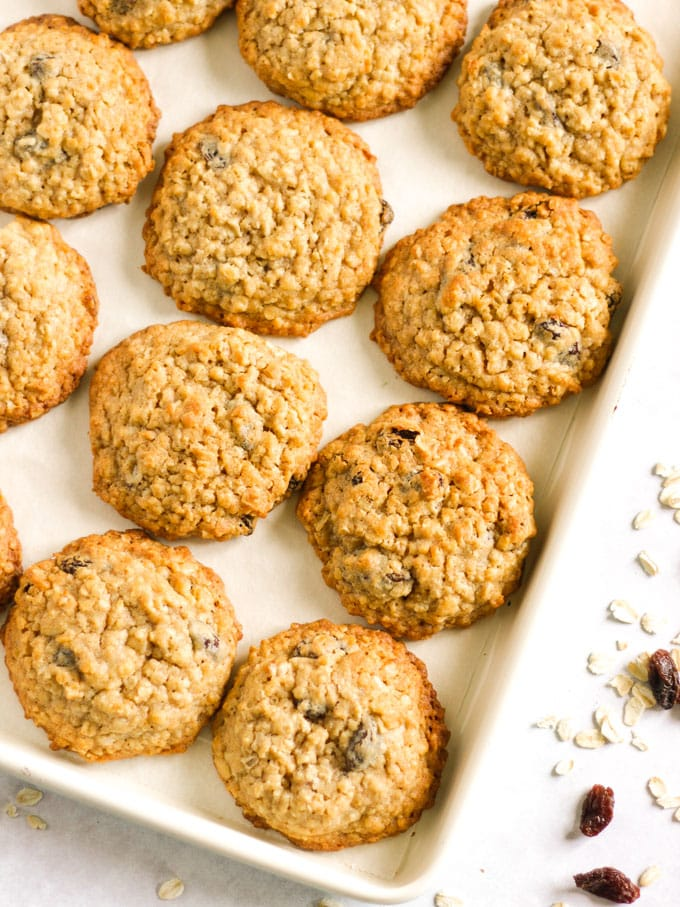 The Best Oatmeal Cookies Soft Chewy Delicious