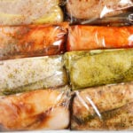 chicken breasts marinading in easy marinades, 10 different types