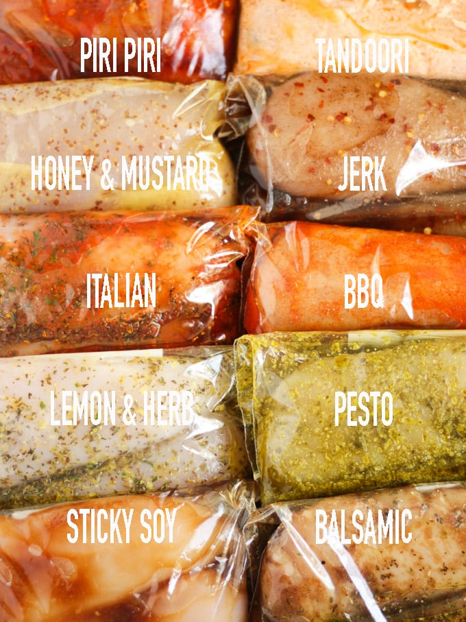 Easy chicken marinades for chicken breasts, gluten free