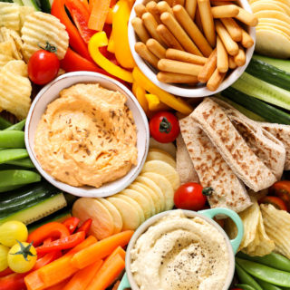 Hummus Platter for Kids (and Grown Ups!)