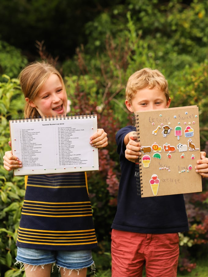 Summer Bucket list of fun things for kids to do in the school holidays