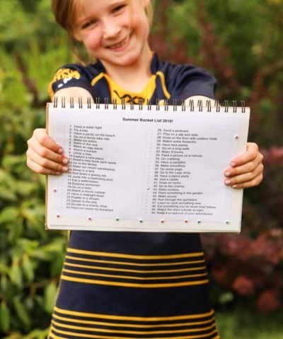 Kids summer bucket list - activities for the school holiday sunny season