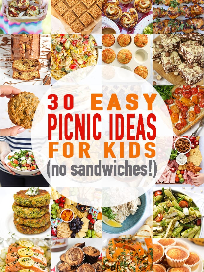 30 Picnic Ideas For Kids With No Boring Sandwiches