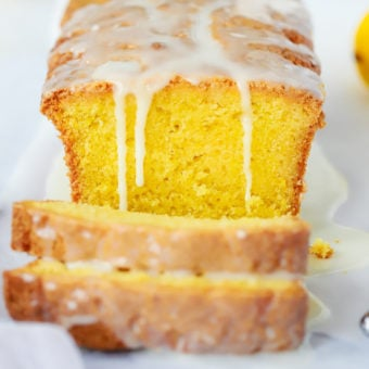 Easy Lemon Drizzle Cake recipe with icing