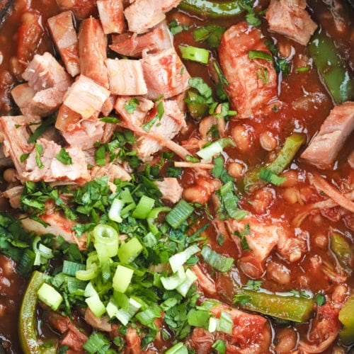 Campfire Stew Recipe with gammon and beans